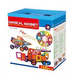 Magnetická stavebnice Magical Magnet 168ks - zvìtšit obrázek