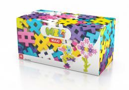 Stavebnice Meli Maxi Pink 50ks