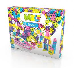 Stavebnice Meli Basic Pink 1000ks - zvìtšit obrázek