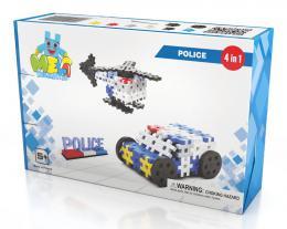 Stavebnice Meli Policie 4v1 117ks
