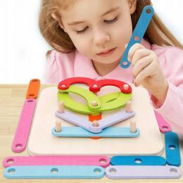Vzdìlávací skládaèka Abeceda Montessori