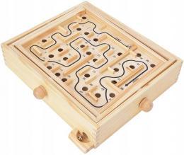 Dovednostní hra døevìný labyrint Montessori